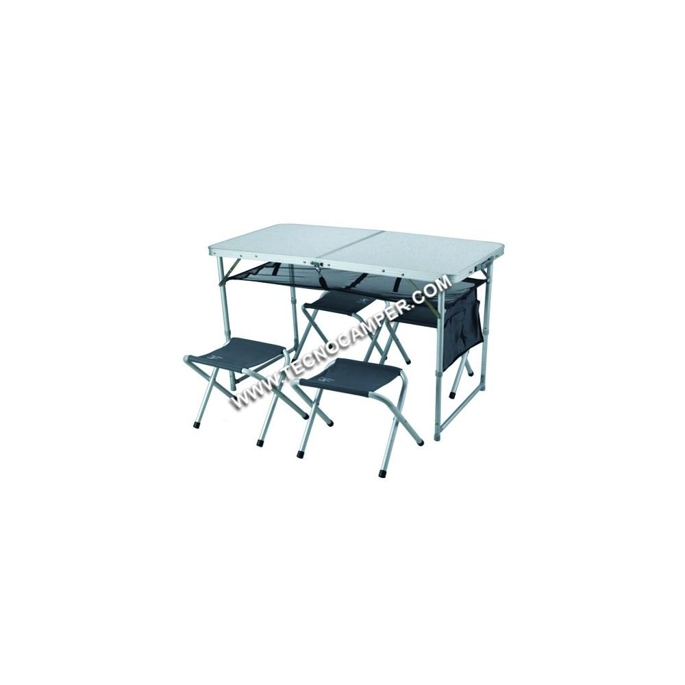 set tavolo 4 sedie tecnocamper