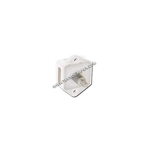 Mini Push-Lock per antine bianco