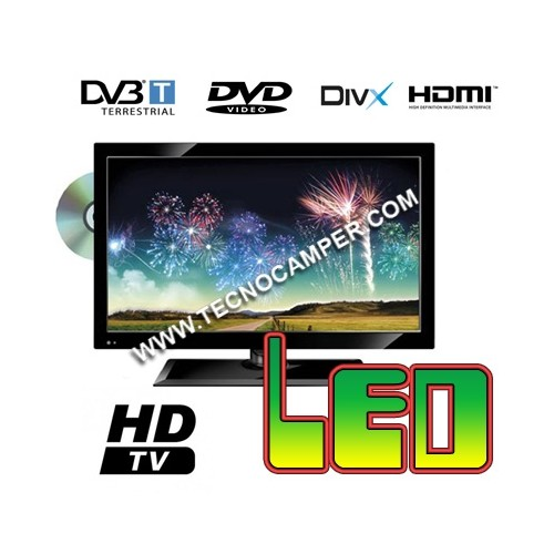 TV LED Full 15 HD: digitale terrestre, lettore DVD & divX, USB.....