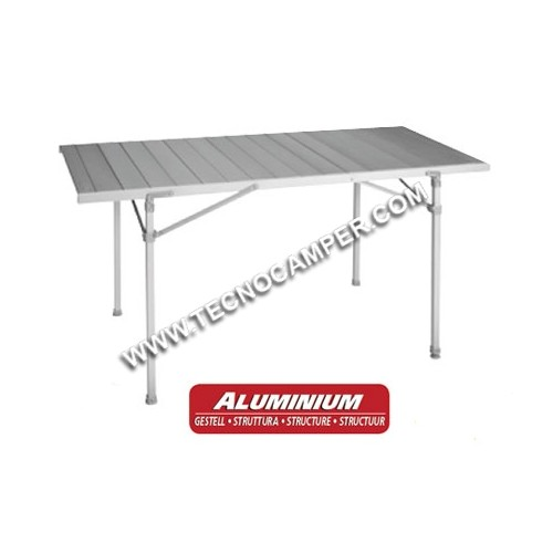Tavolo titanium quadra 6 tecnocamper for Table titanium quadra 6 personnes
