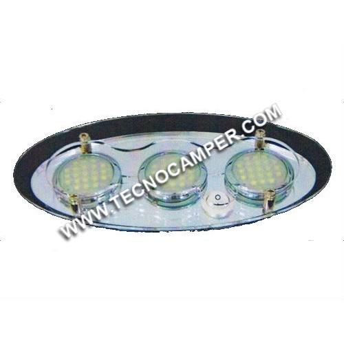 Plafoniera Elsi 63 LEDs SMD plus Bianco caldo K3600