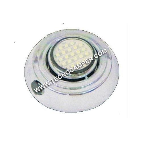 Faretto regolabile 21 LEDs SMD plus Bianco Caldo K3600