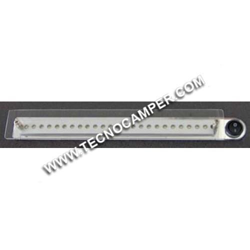 Faretto LINEAR PLEXY a 24 LEDs Super Bright K6500