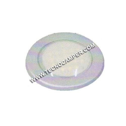 Faretto fisso da incasso 21 LEDs SMD plus Bianco Caldo K3600