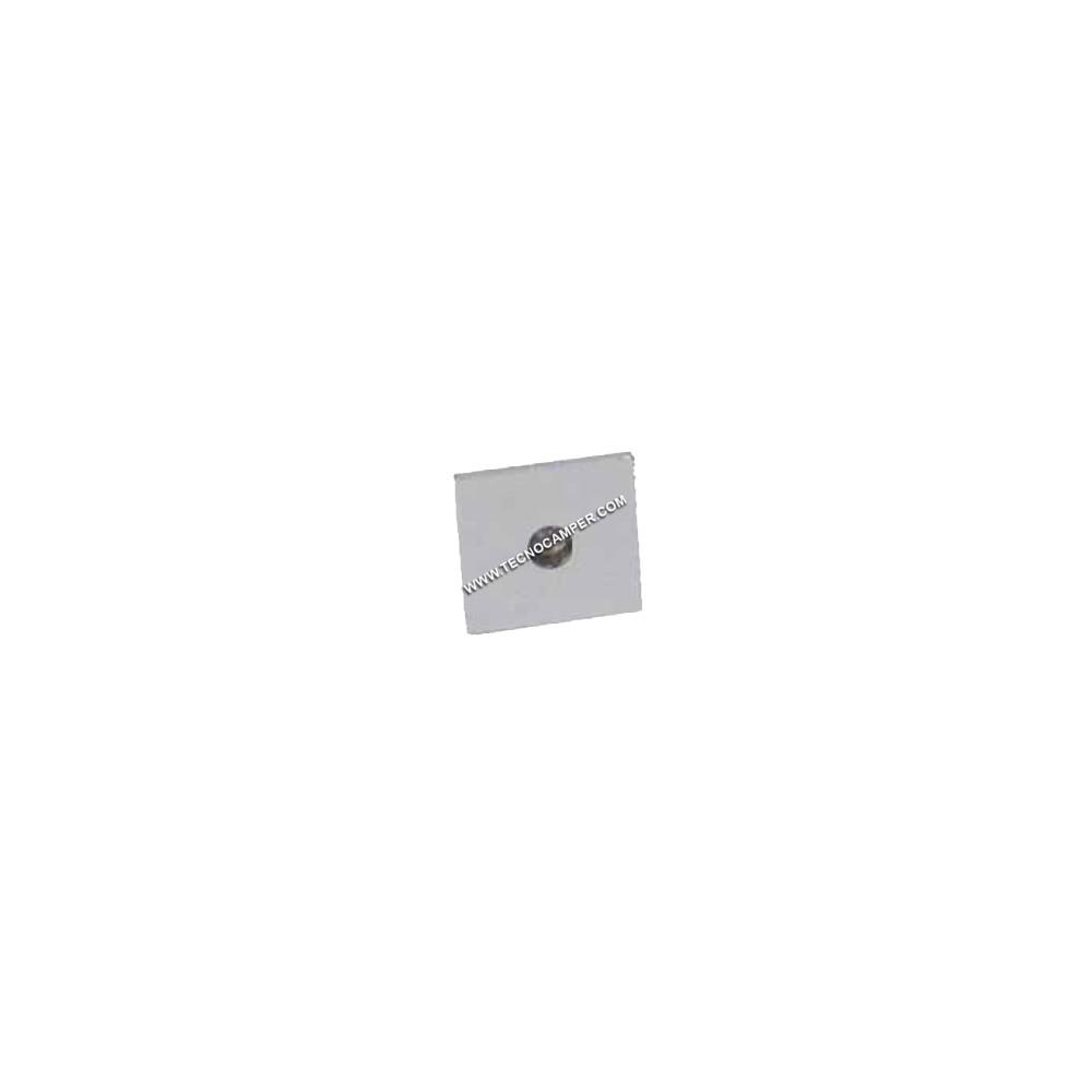 Faretto segnapassi quadrato a 1 LEDs Super Bright in ...