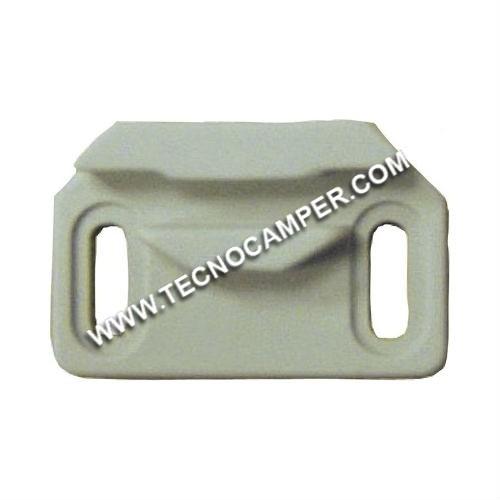 Scrocchetto Plastoform grigio