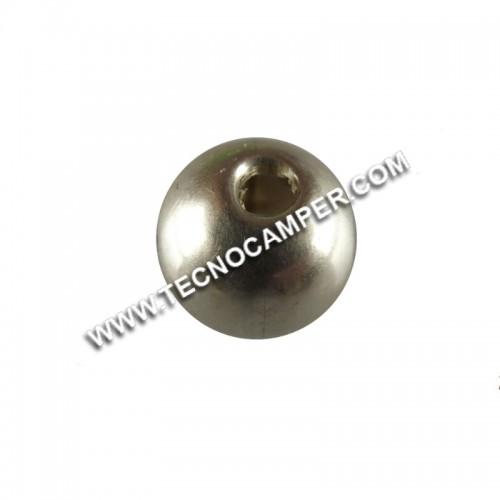 Silver Globe- Sfera dargento