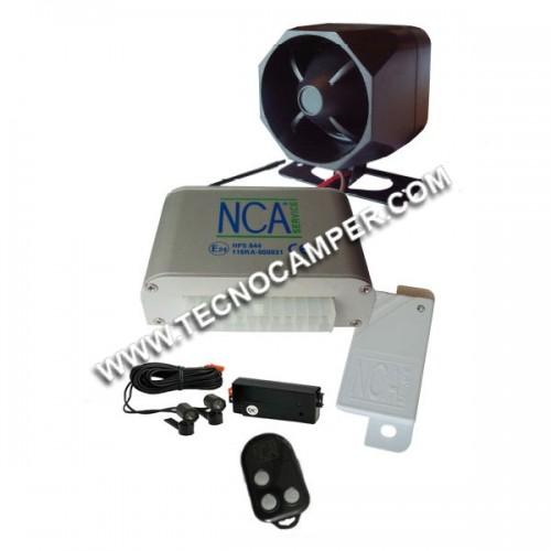 Riki Alarm CAN BUS 844 + modulo ultrasuoni + 4 sensori ISM 2,4 Ghz
