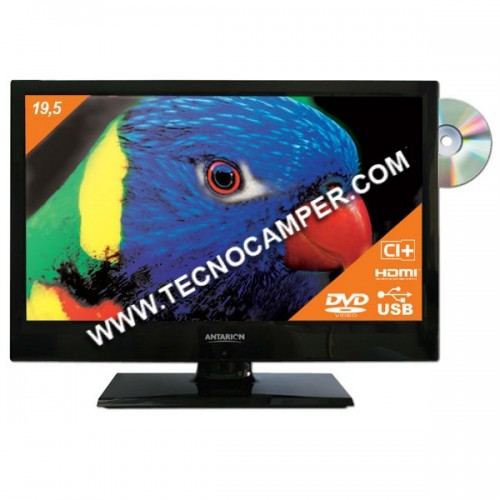 TV LED 19,5 con decoder sat