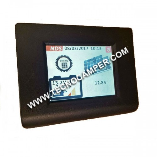 Display Touch per MPPT SC300M