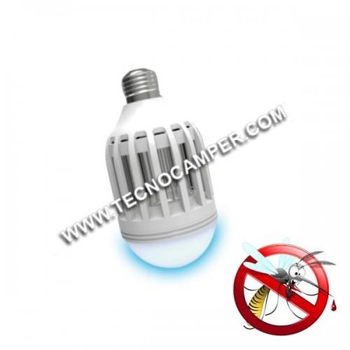 Lampada anti zanzare blu