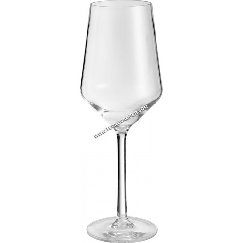 White Wineglass