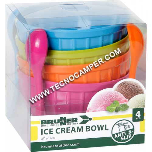 Set Ice Cream Bowl
