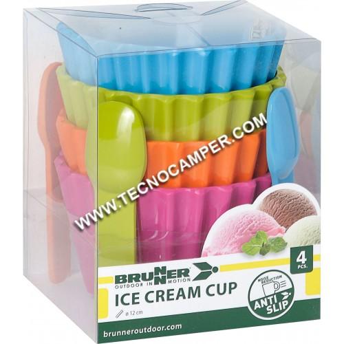 Set Ice Cream Cup