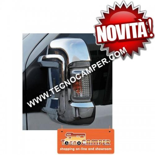 Coppia cover per specchietto DUCATO X250 Cromo