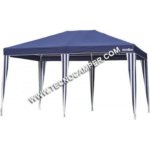 Gazebo Isola II 3x4 blu