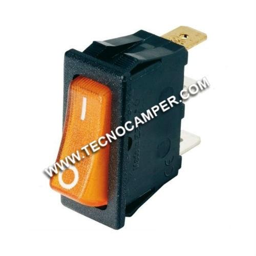 Interruttore arancio 230 volt serie 4