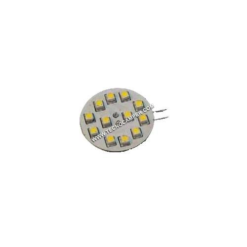 Modulo G4 a 12 LEDs SMD plus Bianco K3600