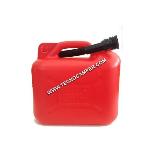Tanica carburante 10 lt