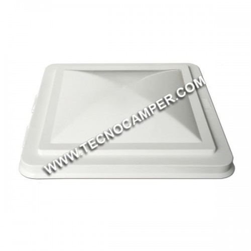 Cupola di ricambio bianca per oblò Vent 40x40