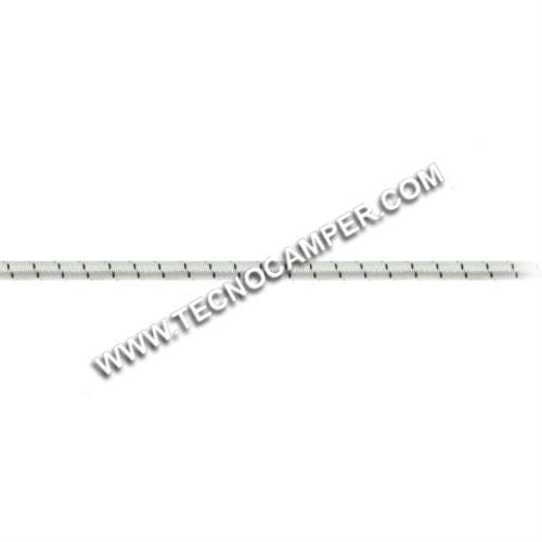 Treccia elastica mare mm.5