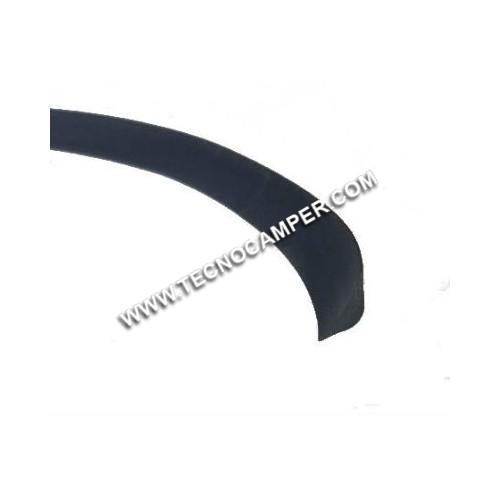 Guarnizione coprivite nero 15 mm