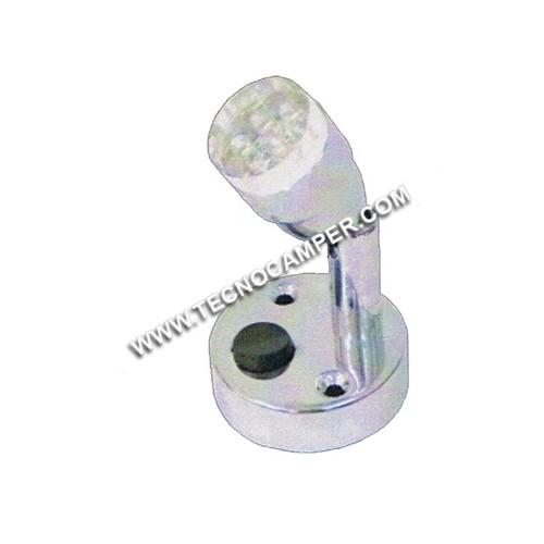 Faretto con snodo SPOT a 9 LEDs Super Bright K6500
