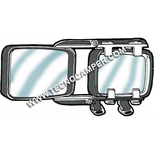Specchio retrovisore caravan EUROPA XL