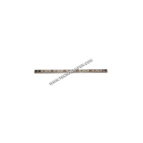Modulo lineare 30 LEDs SMD 5050 su profilo in alluminio