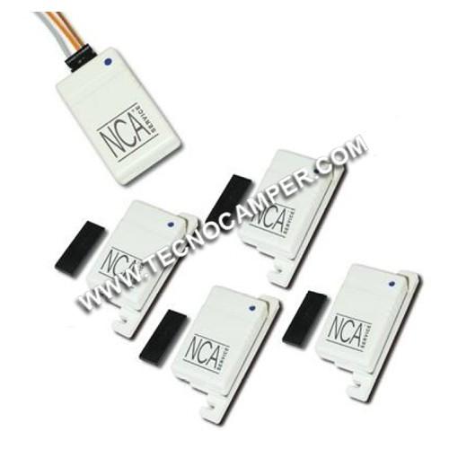 Modulo interfaccia ISM 2,4 GHz con 4 sensori