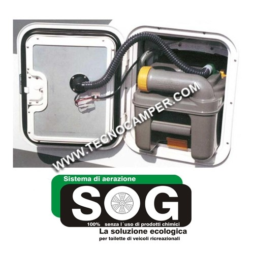 SOG - Sistema di ventilazione per cassette WC C200