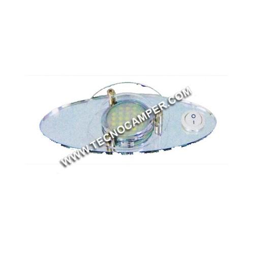 Faretto fisso 21 LEDs SMD plus Bianco Caldo K3600