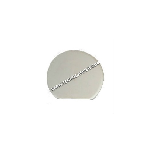 Tappo per fissa mobile circolare bianco