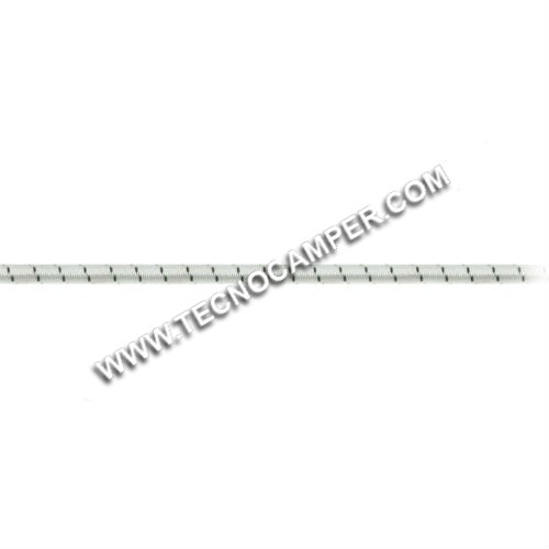 Treccia elastica mare mm.6