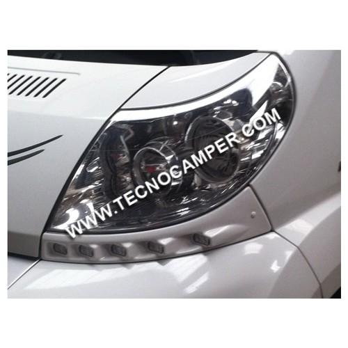 Kit luci diurne led per FIAT DUCATO X250 BIANCO