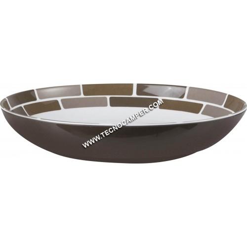 Piatto Fondo Chocolate 21 cm