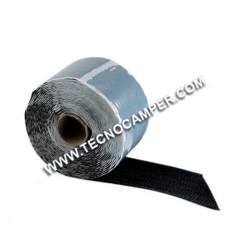 Velcro maschio adesivo colore nero