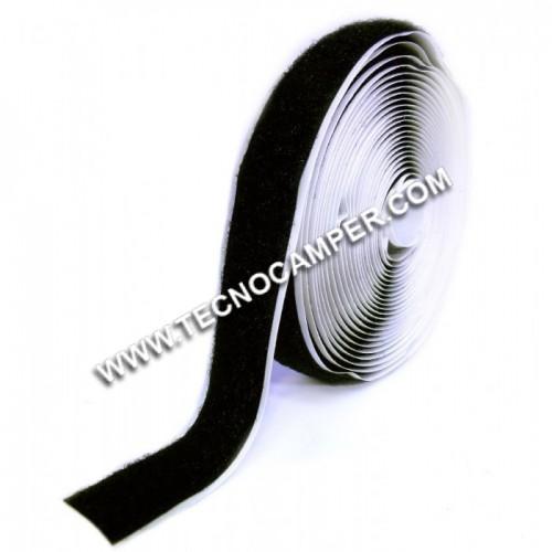 Velcro Femmina H3cm Nero