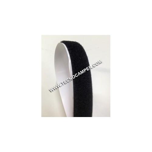 Velcro adesivo H3 femmina nero