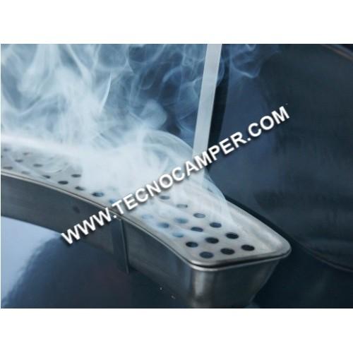 Smoker box kettle
