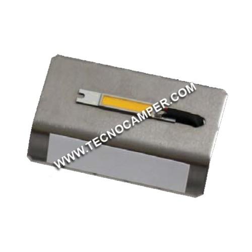 Modulo led ULTRA-POWER per plafoniera esterna bianco caldo
