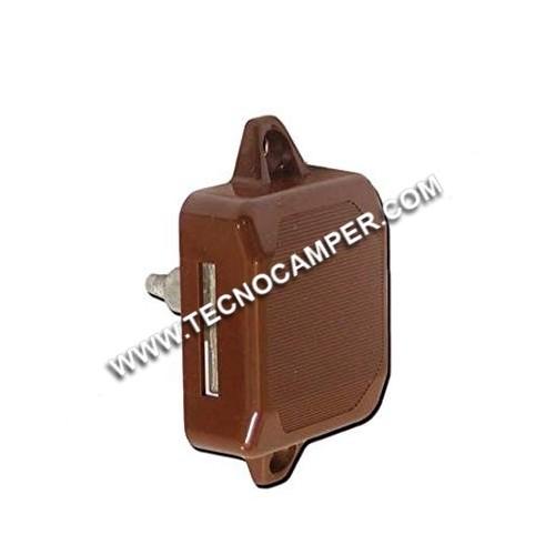 Serratura push-lock unilaterale marrone