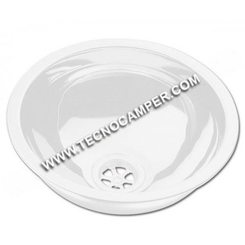 Lavello bianco tondo Can