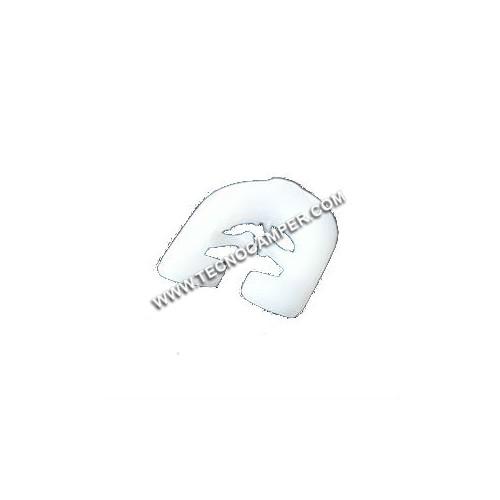 Gancio nylon per tendine a L