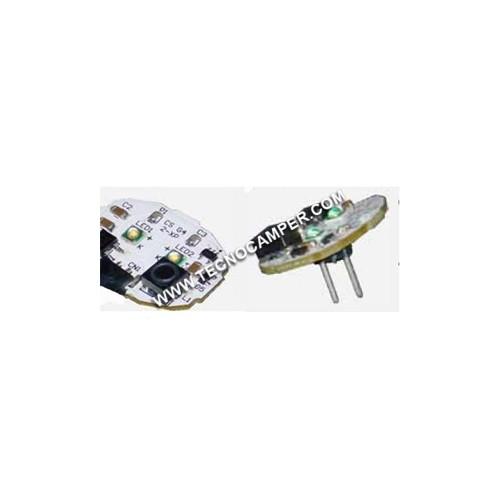 Modulo a 2 Power LEDs XPC - attacco posteriore BIANCO CALDO