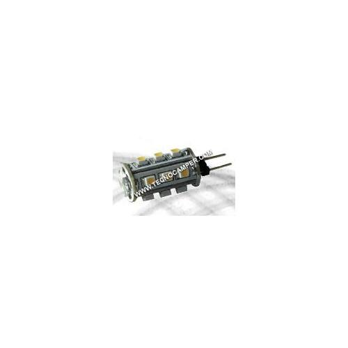 Modulo a 18 LEDs SMD cilindro bianco caldo