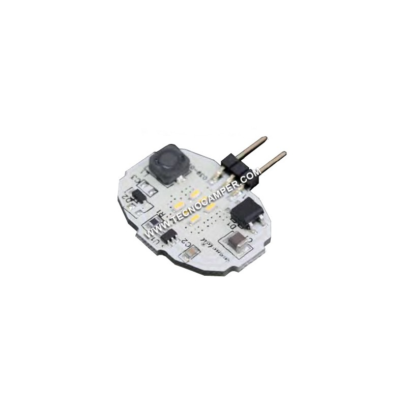Modulo G4 a 6 Micropower Led bianco caldo